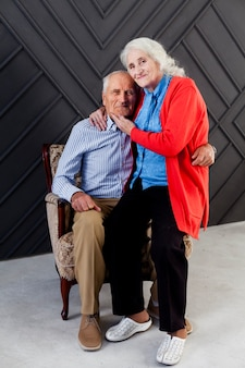 Очаровательны старшие пары вместе