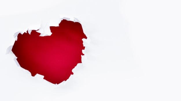 День святого валентина разрыв сердца с копией пространства