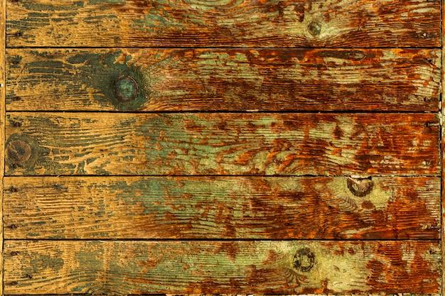 粗い表面を持つ木製のテクスチャを着用