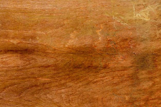 古くて傷のある木材表面