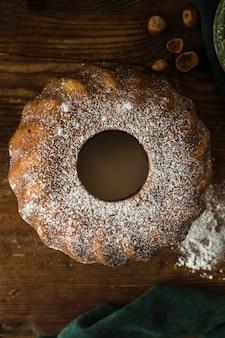 Сахарная пудра на вкусный торт