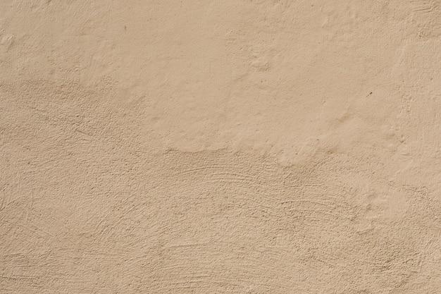 ブラシストロークで粗いセメント表面