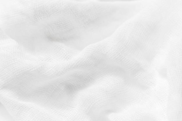 抽象的な白い背景の高級布