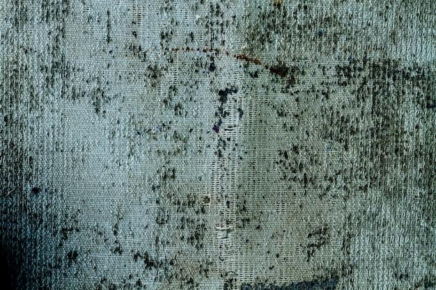 コピースペースを持つ古い灰色の布素材