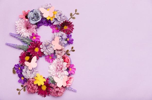 国際女性の日の花