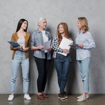 Сообщество женщин, планирующих вместе