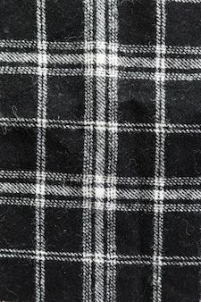 幾何学模様の繊維表面