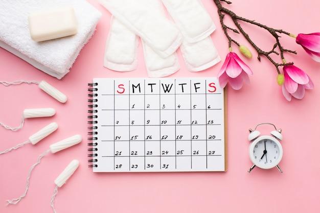 Менструальное расписание с будильником