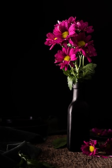 花瓶の美しい花