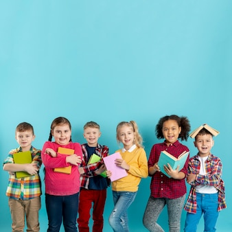 Книжный день с группой юных детей