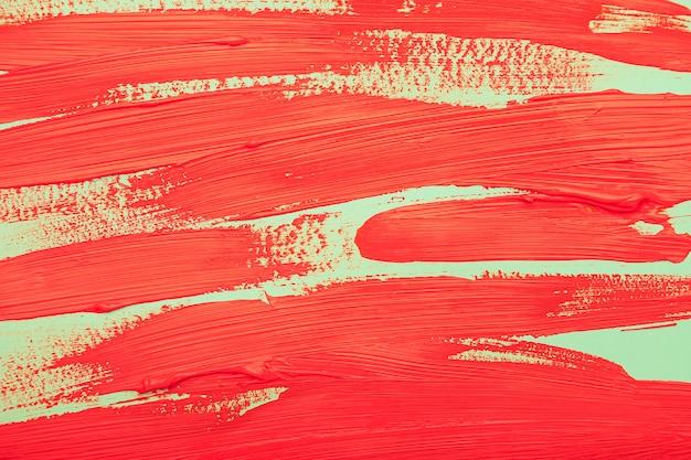 Вид сверху акварельные красные полоски