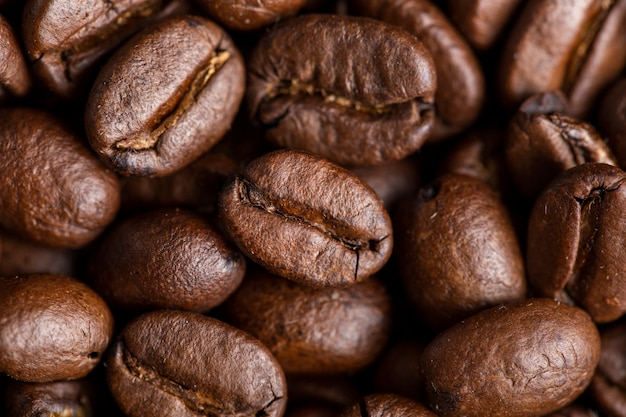 クローズアップコーヒー豆