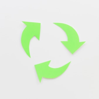 サイクルを作成する緑の矢印