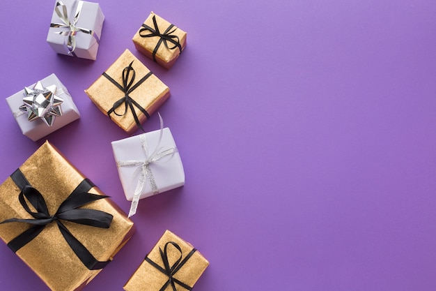 Элегантные подарки с копией пространства