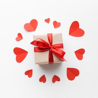 心のプレゼントのトップビュー