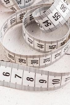 Крупным планом сантиметровой ленты
