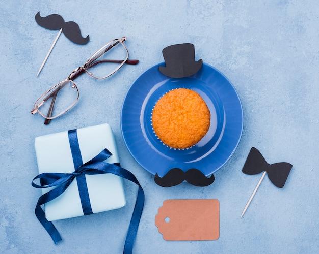 Декор дня отца с печеньем