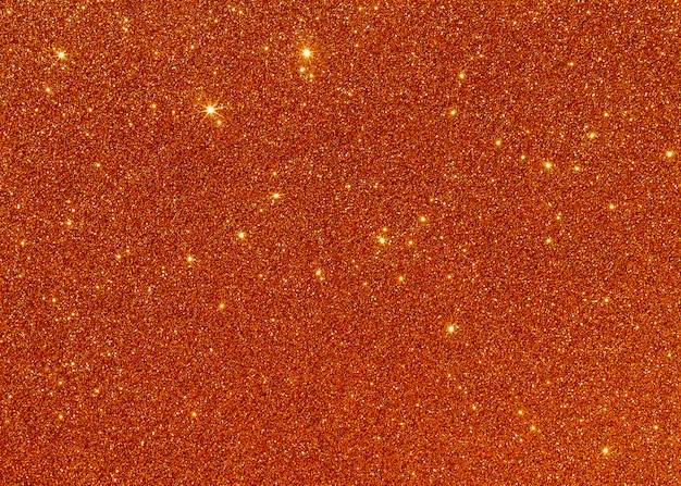 コピースペース抽象的なオレンジ色の光沢のある光