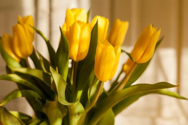 花のクローズアップの花束