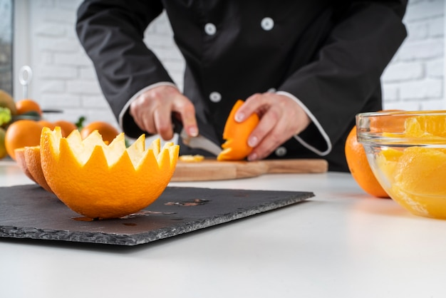 シェフカットオレンジ