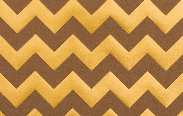 エレガントな黄金の波状の背景のコンセプト