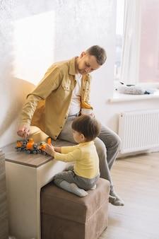 Время игры с отцом и сыном