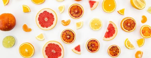 ジュースとスムージーの柑橘成分