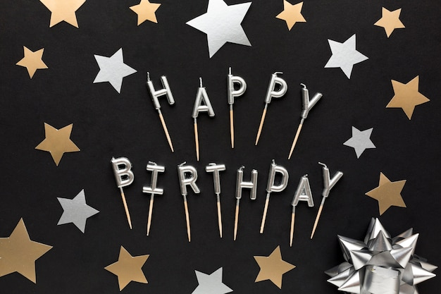 Сообщение с днем рождения