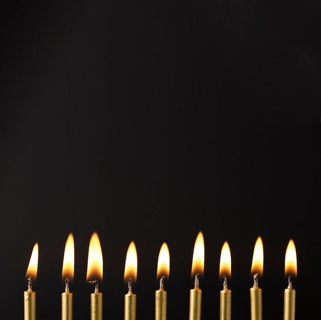 Копирование пространства зажженных свечей
