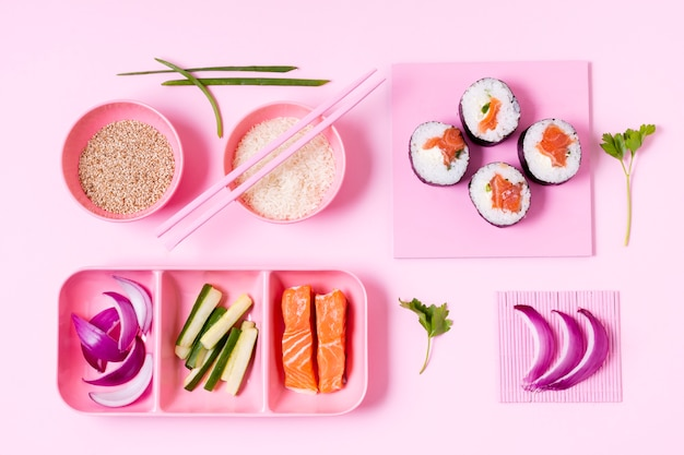 寿司製造工程