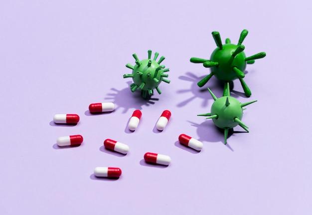 Высокоуглеродистые таблетки от вируса