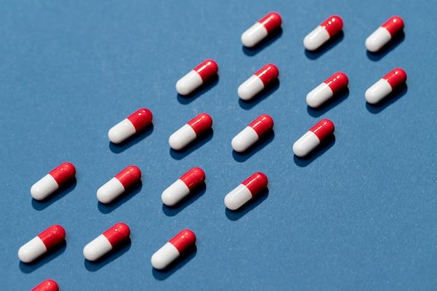 Вид сверху таблетки для тратмента