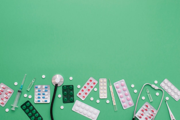 Таблетки рамка с копией пространства