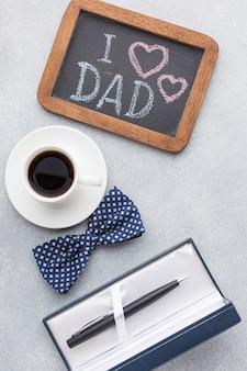 День отца с ручкой