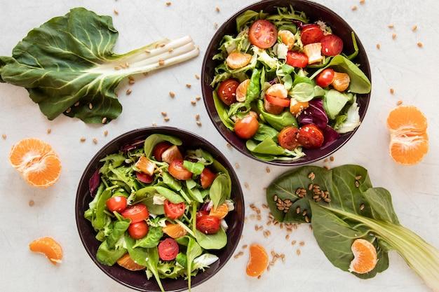 サラダ用の新鮮野菜
