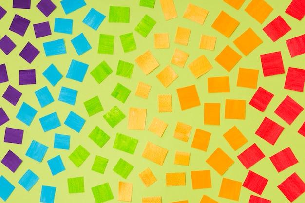 Гей-концепт-мозаика цветов
