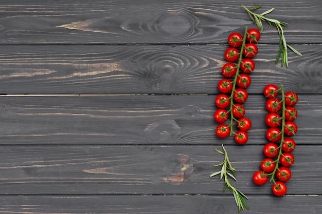 コピースペース付きフラットレイアウト健康食品フレーム