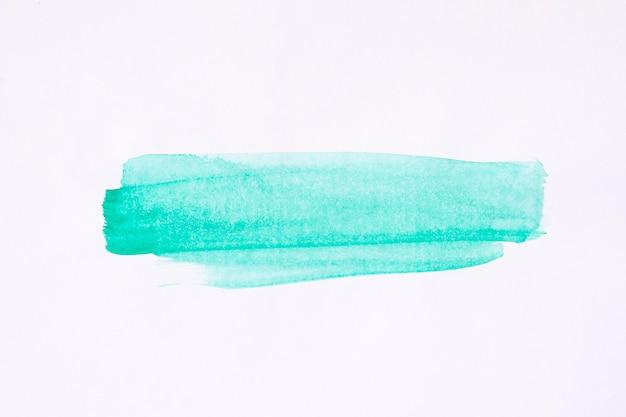 Синяя кисть линии акварельной росписью