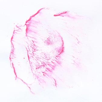 白い背景の水彩画のテクニック