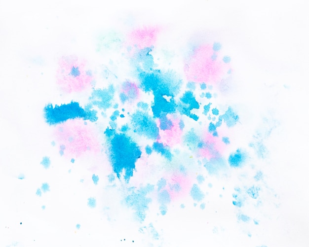 水彩スプラッシュ抽象的なデザイン
