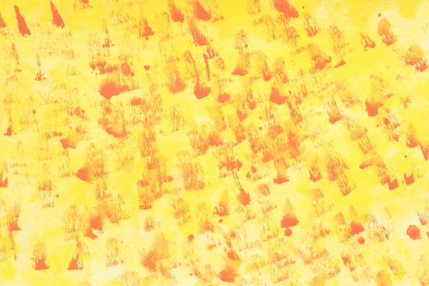黄色の染色水彩背景