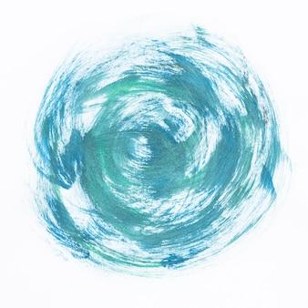 Акварель синий вихрь