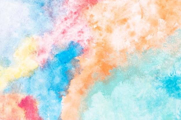 水彩混合背景