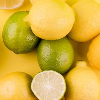 Крупный план органических фруктов