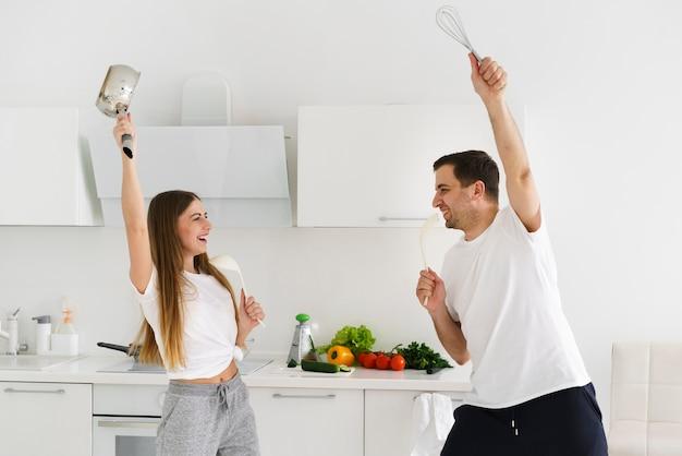 Высокий угол приготовления пара