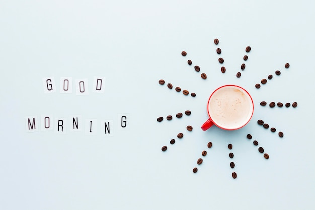 コーヒー豆の形太陽の形
