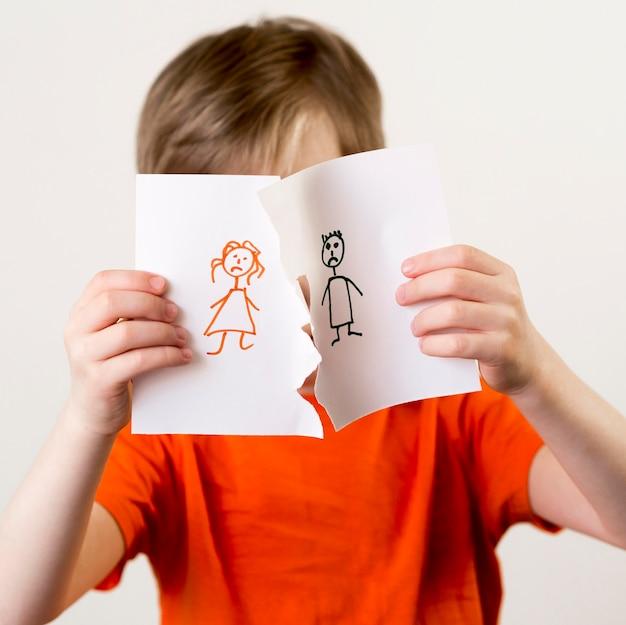 離婚による家族の分離