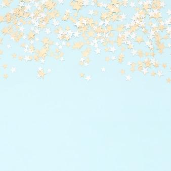 カラフルな紙の紙吹雪