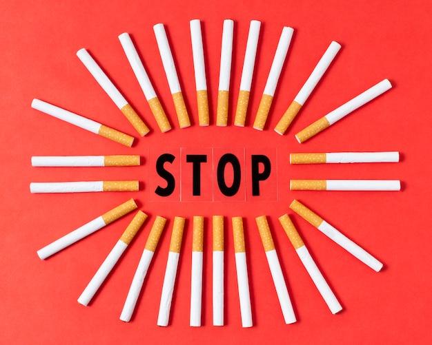 タバコを吸うのをやめる