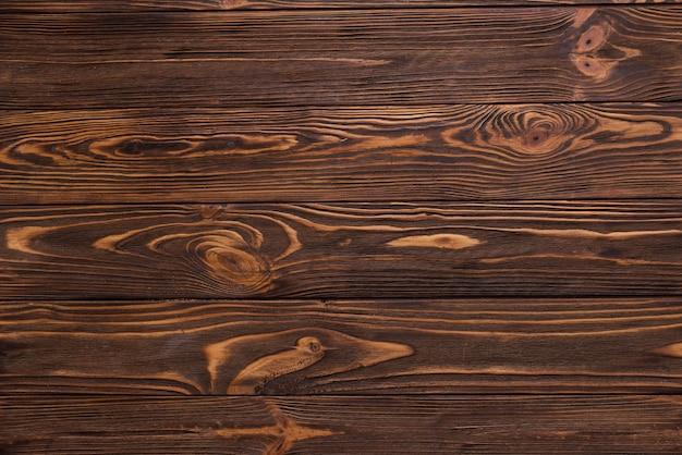 トップビューの木製の床